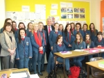 Dr Alastair Mc Donnell MP visit to Hunterhouse College