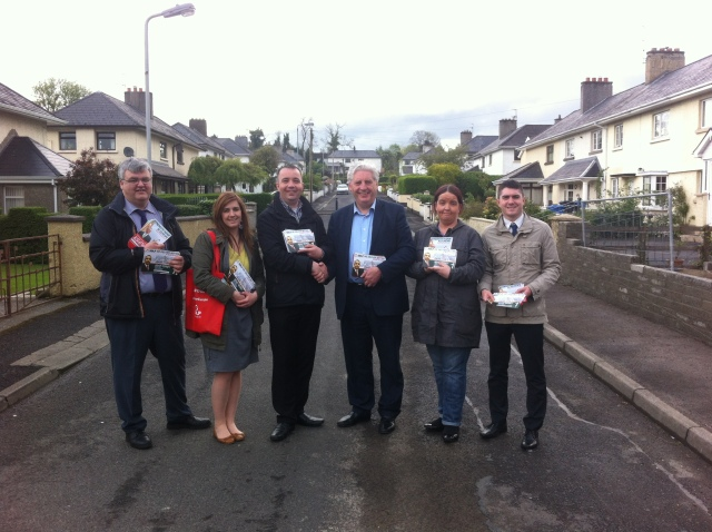 On the Canvass trail in Derry